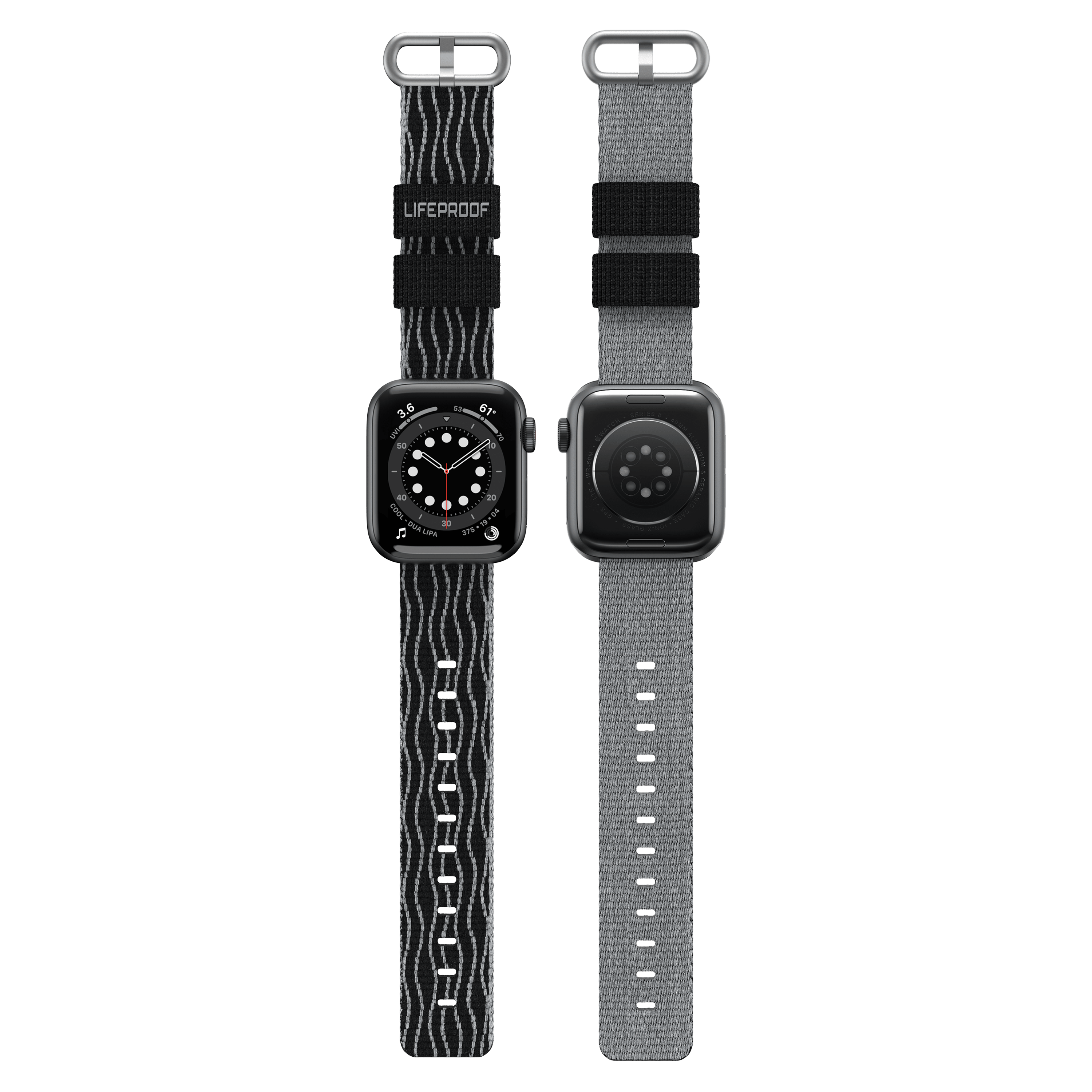 Wholesale cell phone accessory LifeProof - Watchband for Apple Watch 38mm  /  40mm - Midnight