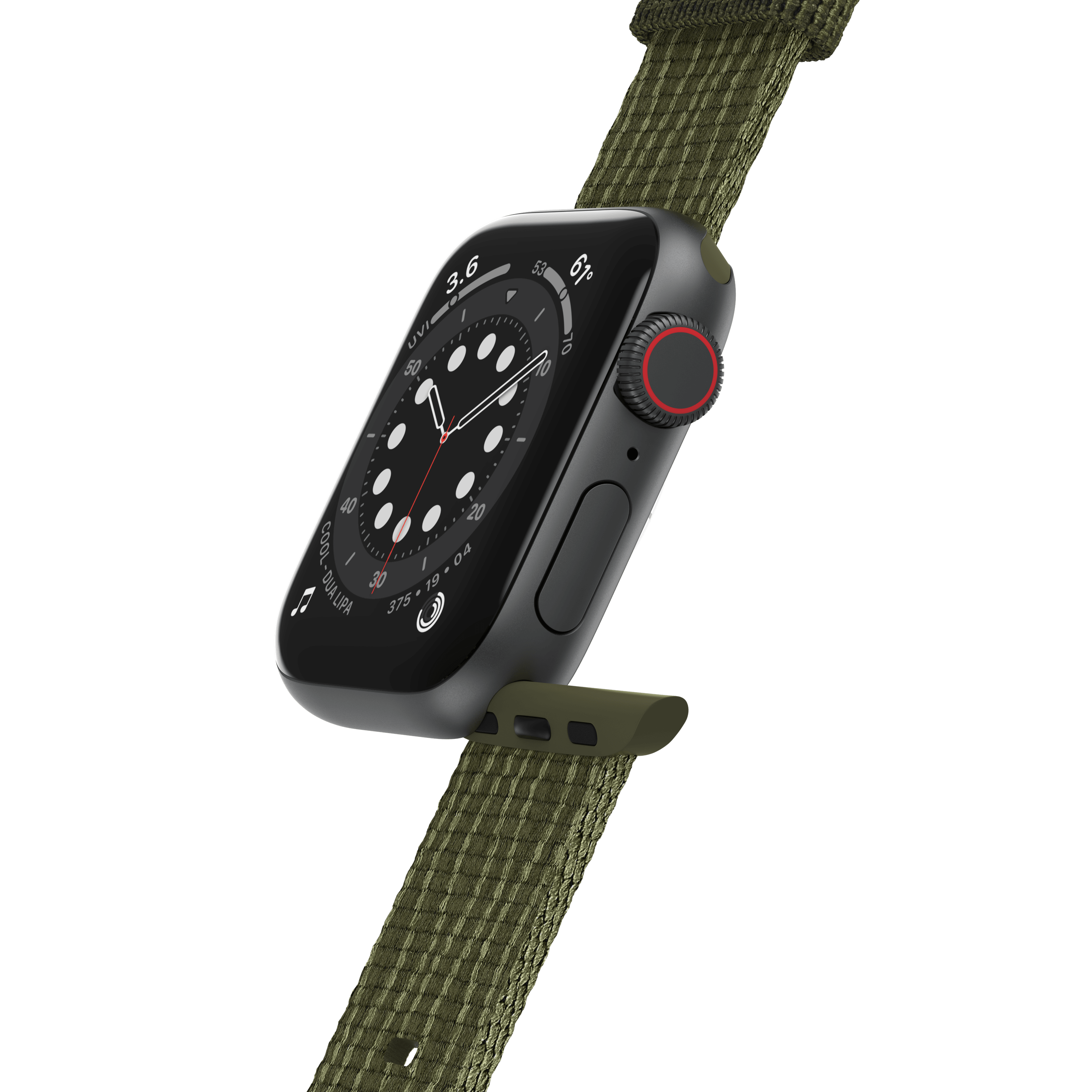 Wholesale cell phone accessory LifeProof - Watchband for Apple Watch 38mm  /  40mm - Sea Moss