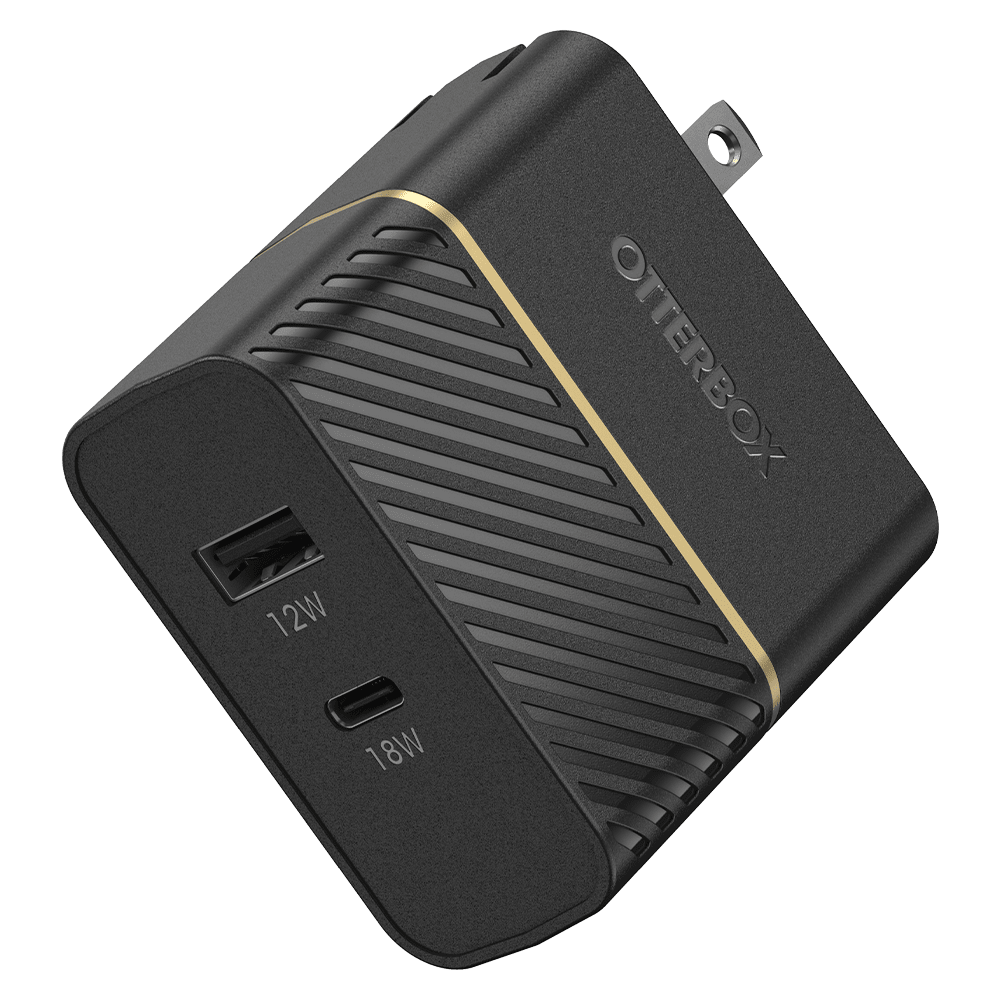 Wholesale cell phone accessory OtterBox - Fast Charge PD USB C and USB A Dual Port Wall Charger