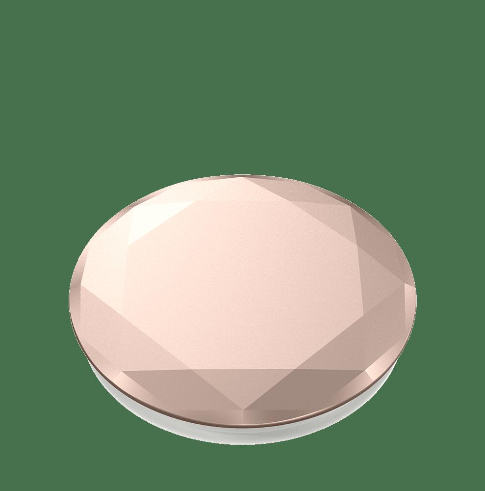 Wholesale cell phone accessory PopSockets - PopGrip Premium - Metallic Diamond  Rose Gold