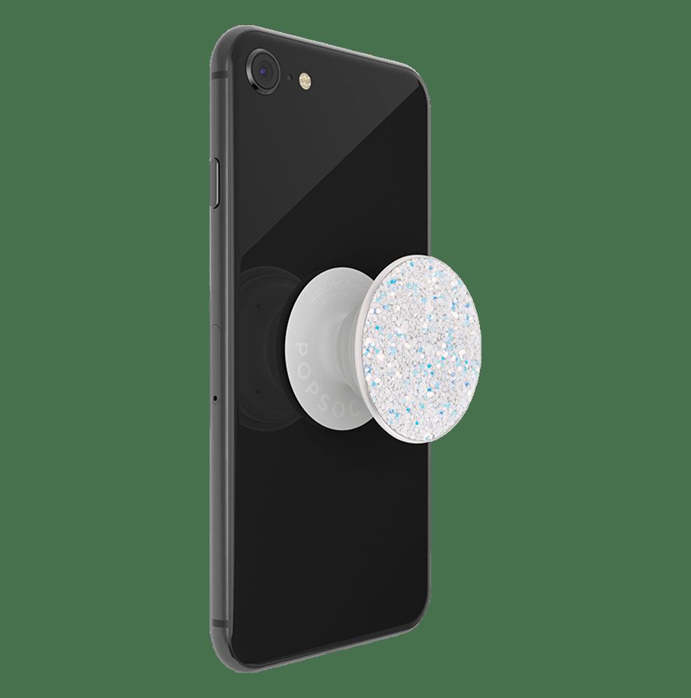 Wholesale cell phone accessory PopSockets - PopGrip Premium - Sparkle Snow White