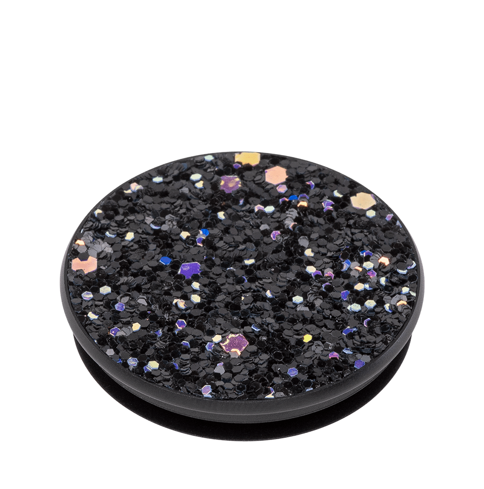 Wholesale cell phone accessory PopSockets - PopGrip Premium - Sparkle Black