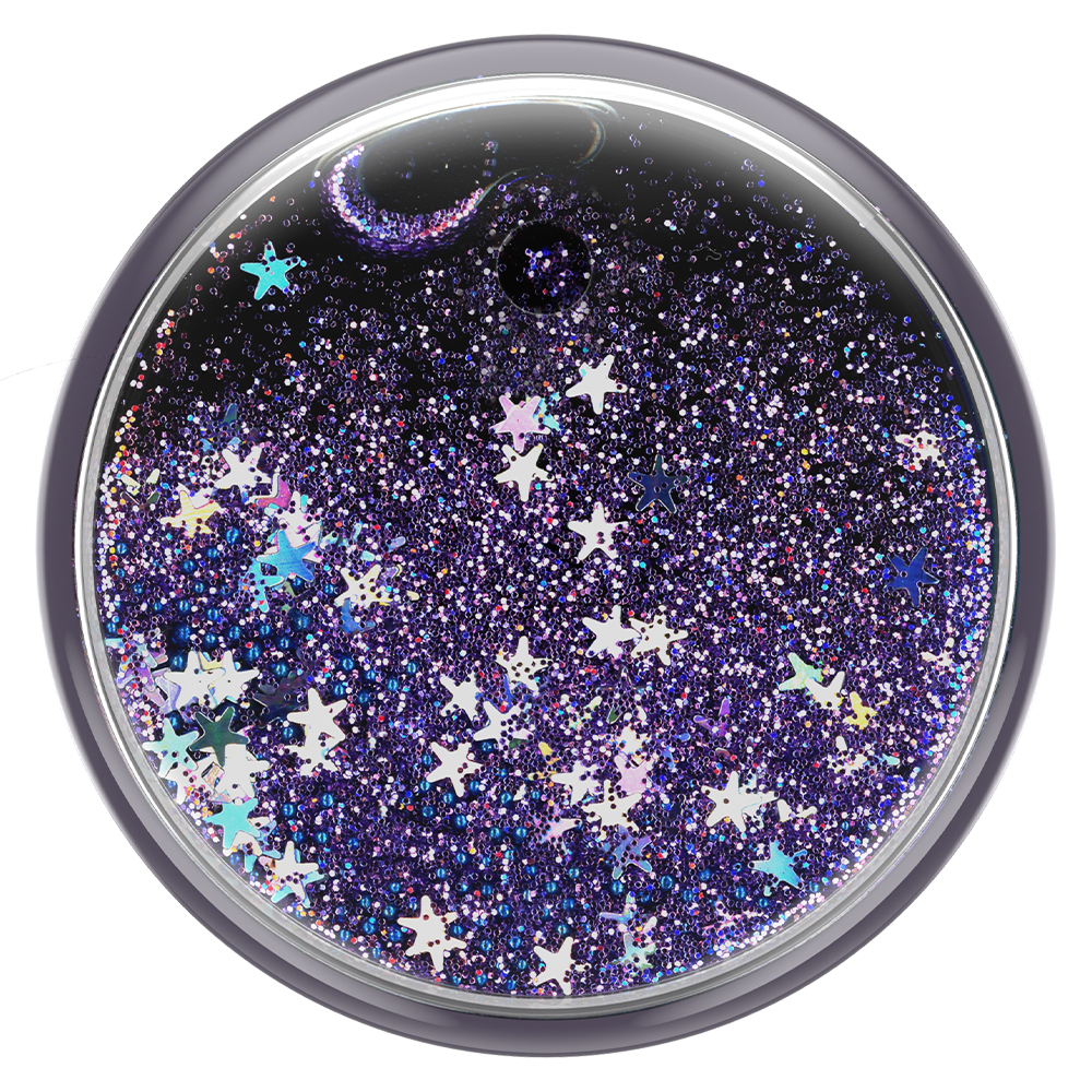 Wholesale cell phone accessory PopSockets - PopGrip Luxe - Tidepool Galaxy Purple