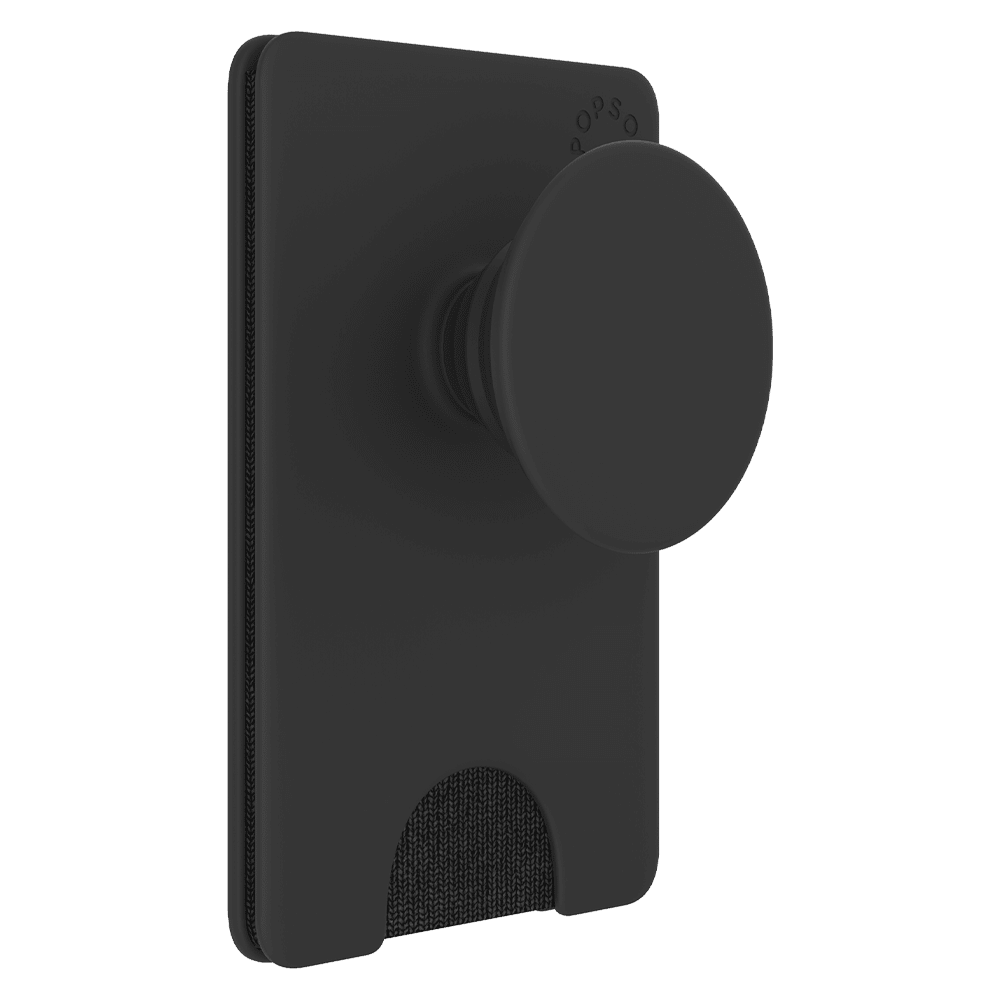 Wholesale cell phone accessory PopSockets - PopWallet Plus with PopGrip - Black