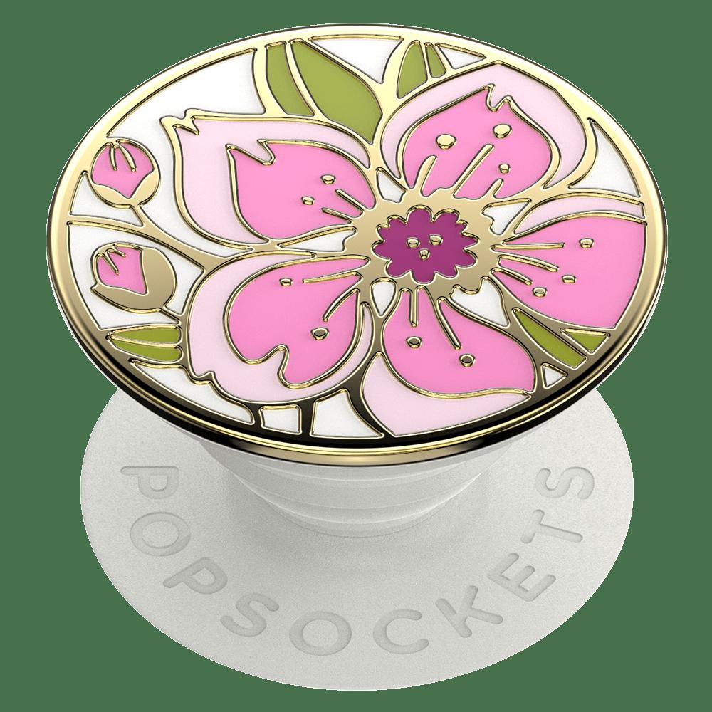 Wholesale cell phone accessory PopSockets - PopGrip Premium - Enamel Cherry Blossom