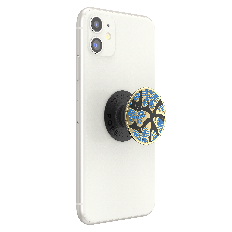 Wholesale cell phone accessory PopSockets - PopGrip Premium - Enamel Mariposa