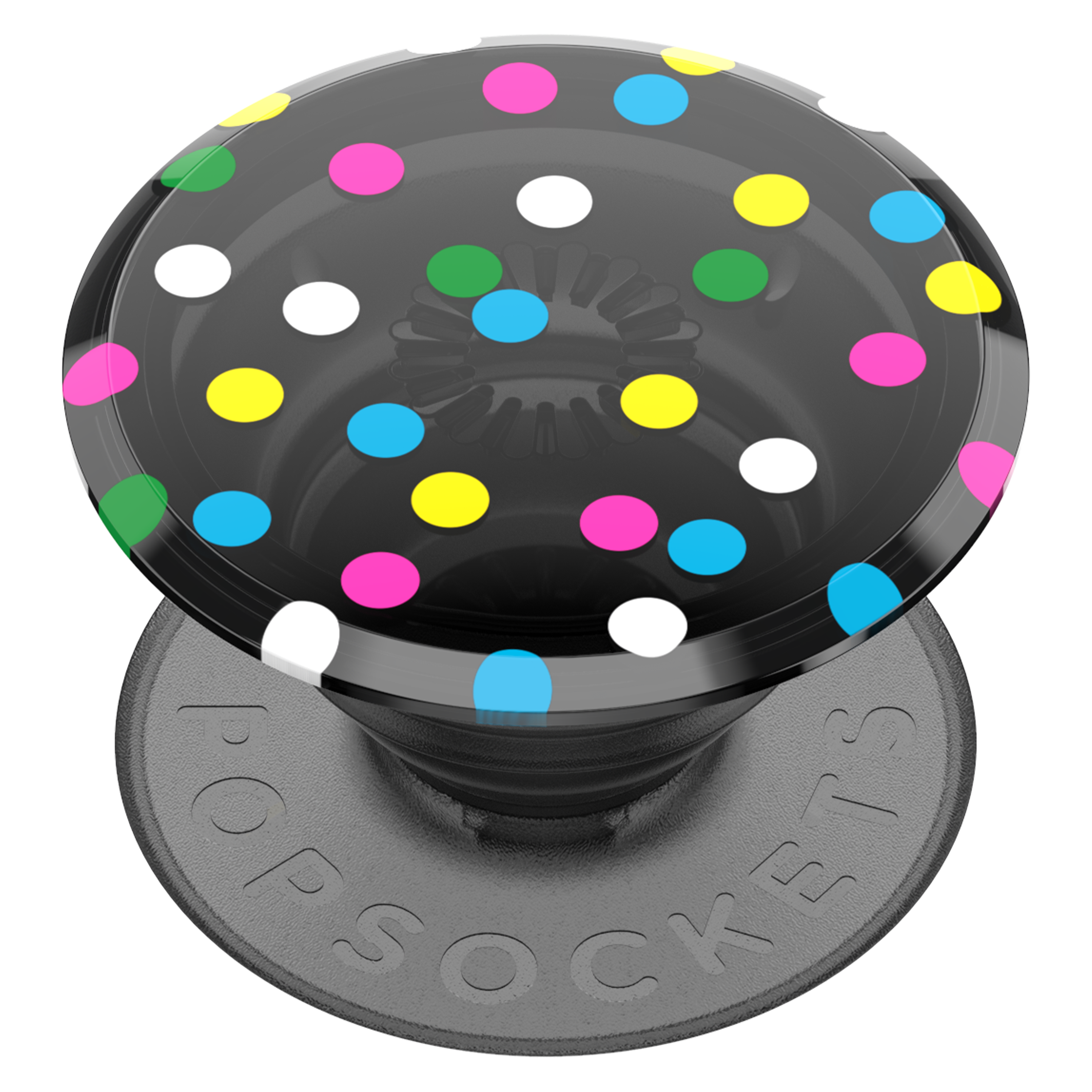 Wholesale cell phone accessory PopSockets - PopGrip - Disco Dots