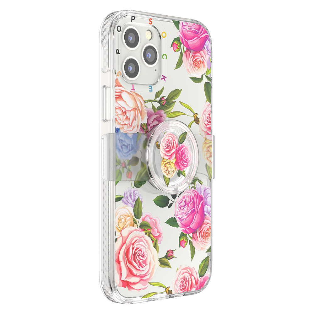 Wholesale cell phone accessory PopSockets - PopGrip Slide Case for Apple iPhone 12  /  12 Pro