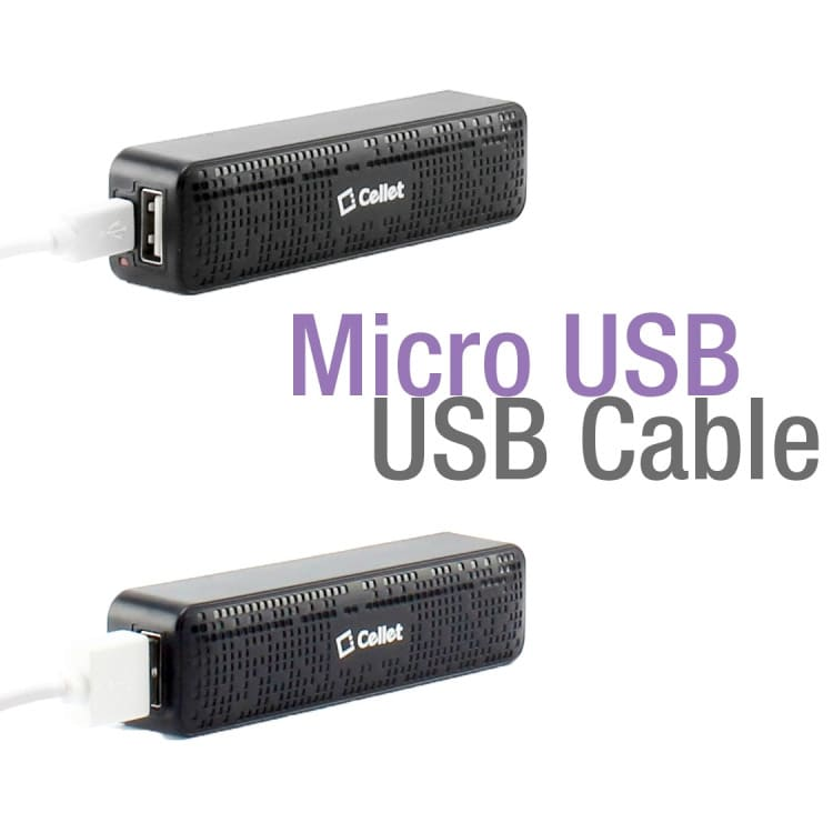 Wholesale cell phone accessory Cellet - Power Bank 2,000 mAh - Black