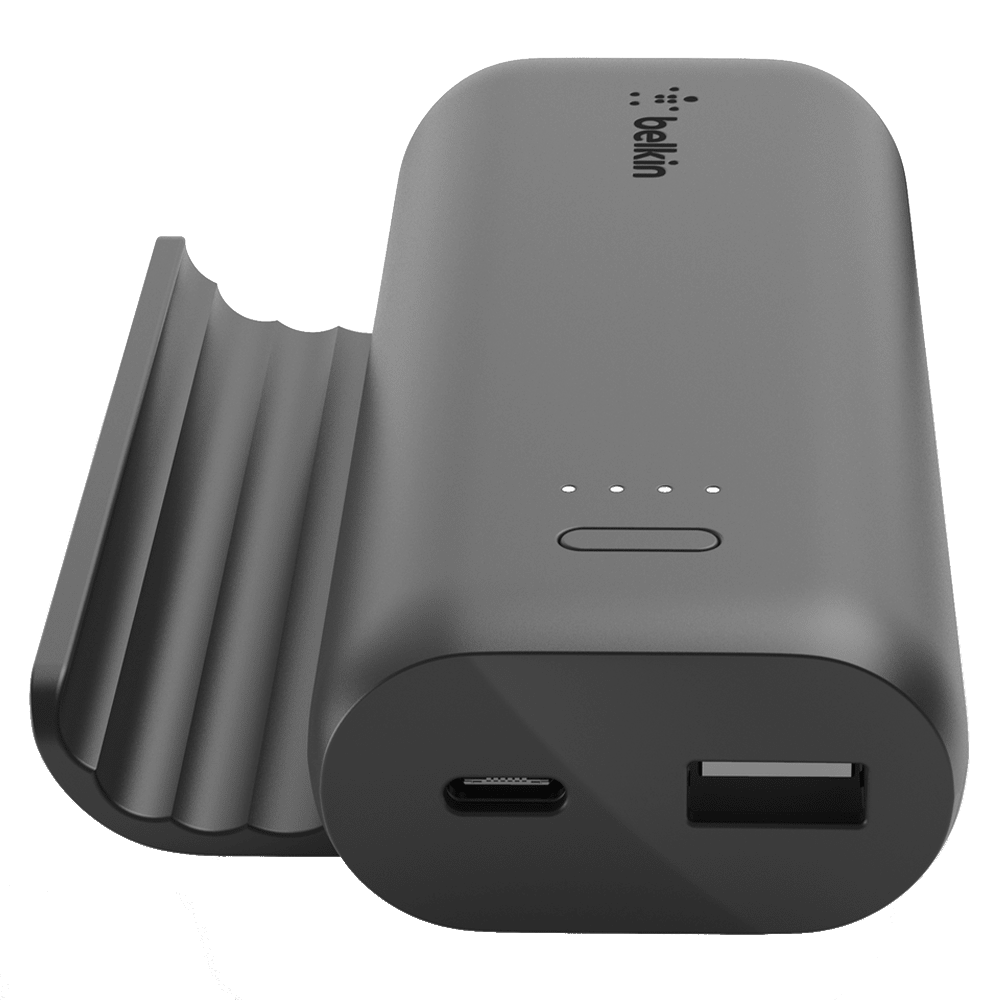 Wholesale cell phone accessory Belkin - Play Series Power Bank and Stand 5,000 mAh - Black