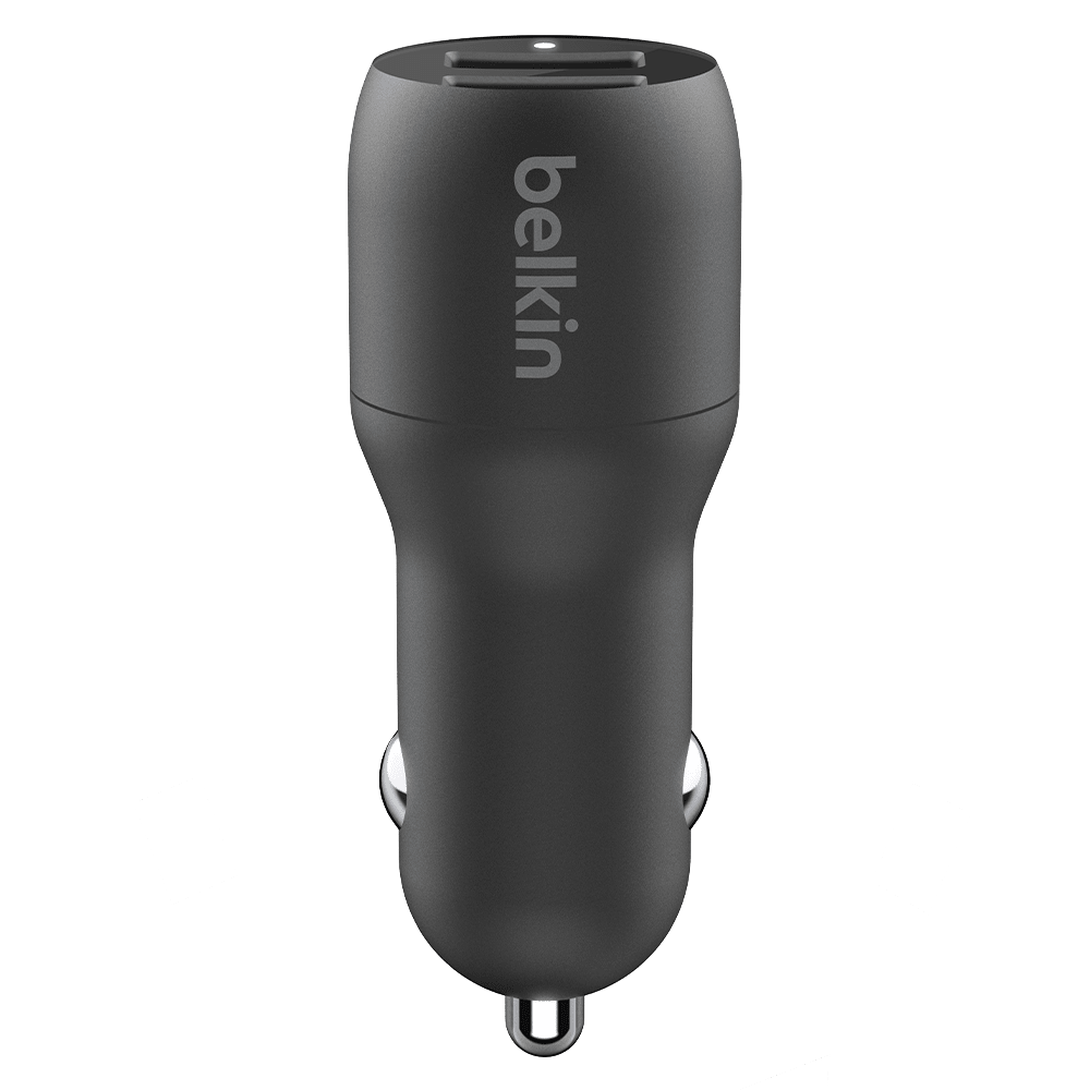 Wholesale cell phone accessory Belkin - Dual Port USB A Car Charger 24W - Black