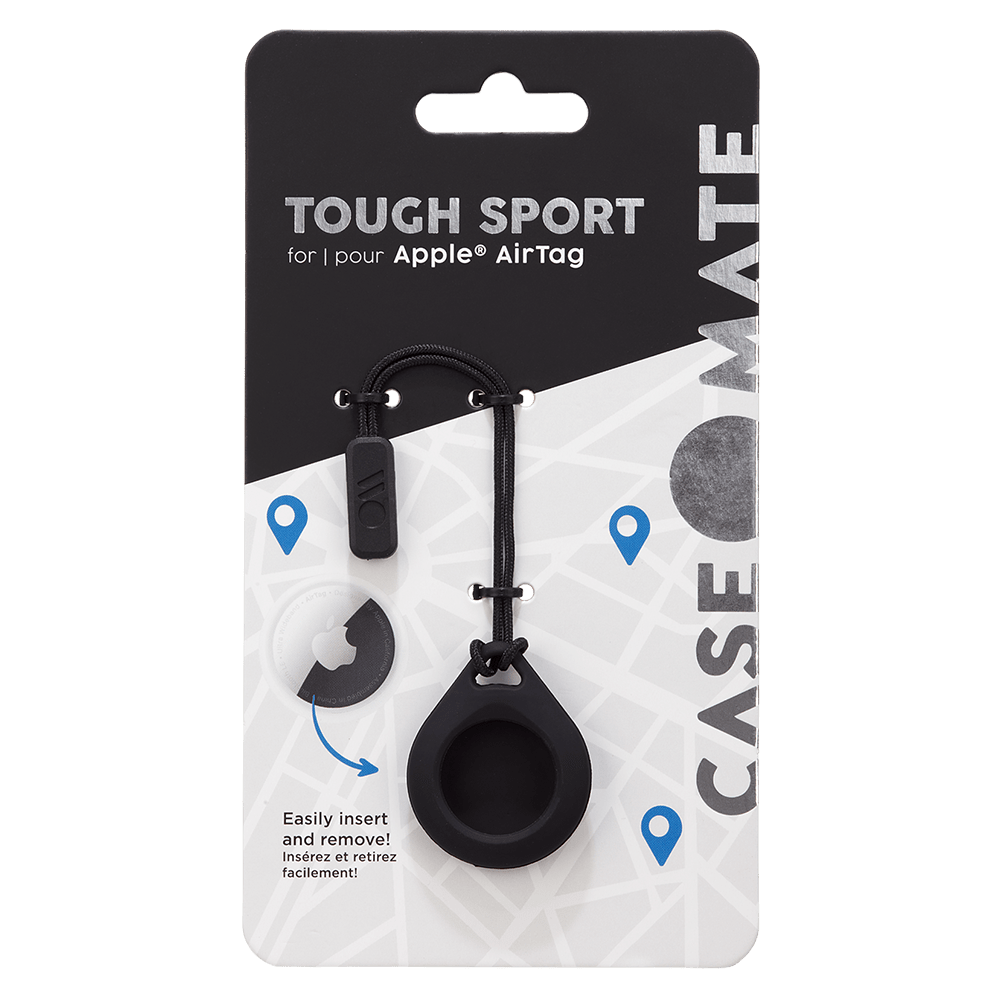 Wholesale cell phone accessory Case-Mate - Tough Sport Case for Apple AirTag - Black