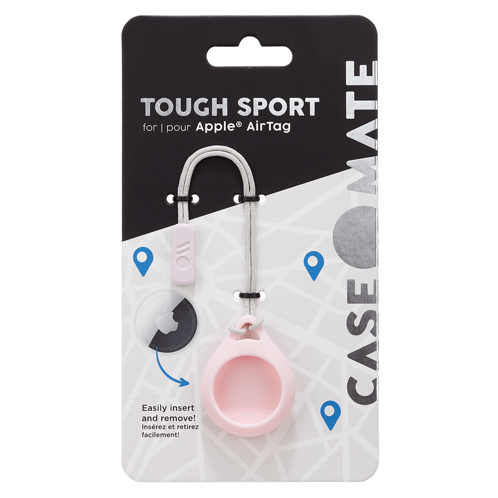 Wholesale cell phone accessory Case-Mate - Tough Sport Case for Apple AirTag - Blush