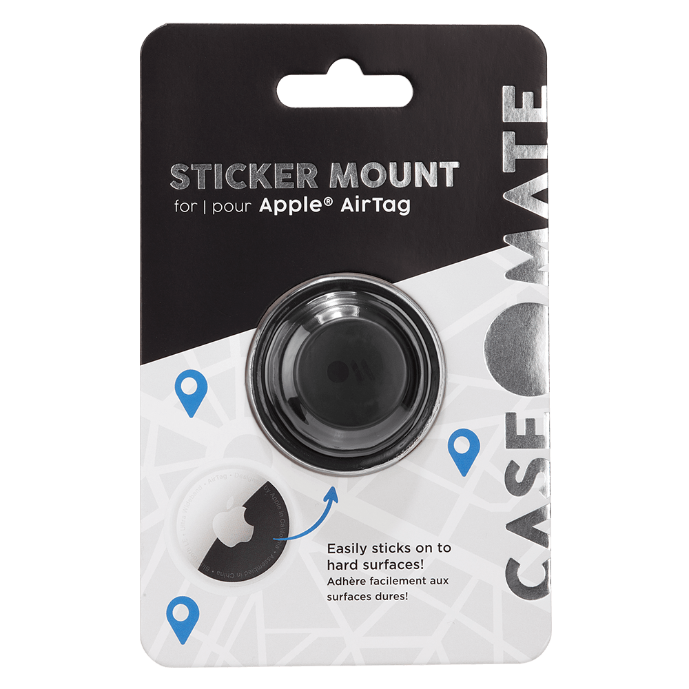 Wholesale cell phone accessory Case-Mate - Sticker Mount for Apple AirTag - Black