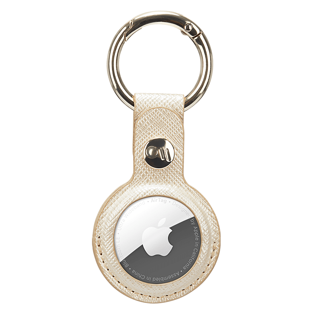 Wholesale cell phone accessory Case-Mate - Keychain Case for Apple AirTag - Gold