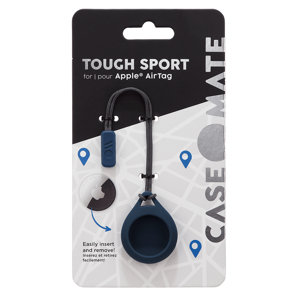 Wholesale cell phone accessory Case-Mate - Tough Sport Case for Apple AirTag - Navy