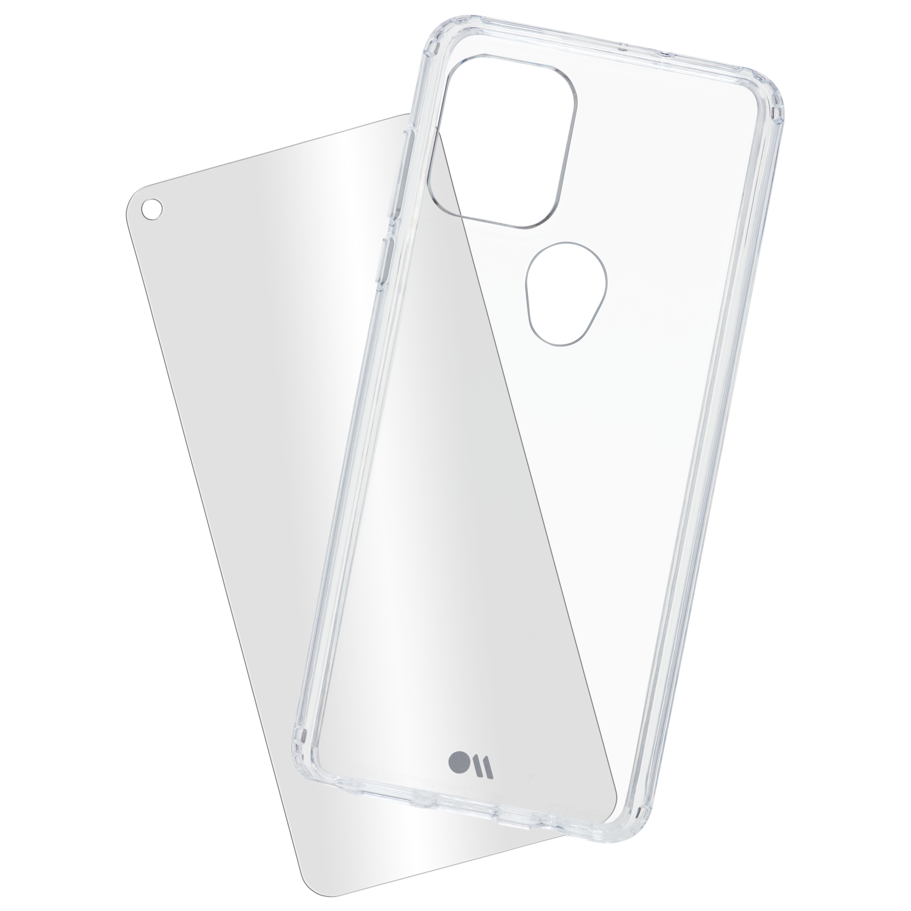 Case-Mate - Protection Pack Tough Case and Glass Screen Protector for Motorola Moto G Stylus 5G (2021) - Clear