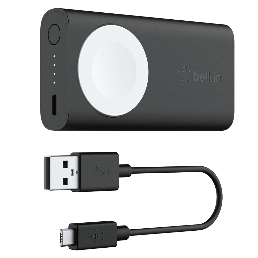 Wholesale cell phone accessory Belkin - Portable Power Pack for Apple Watch Devices - Black