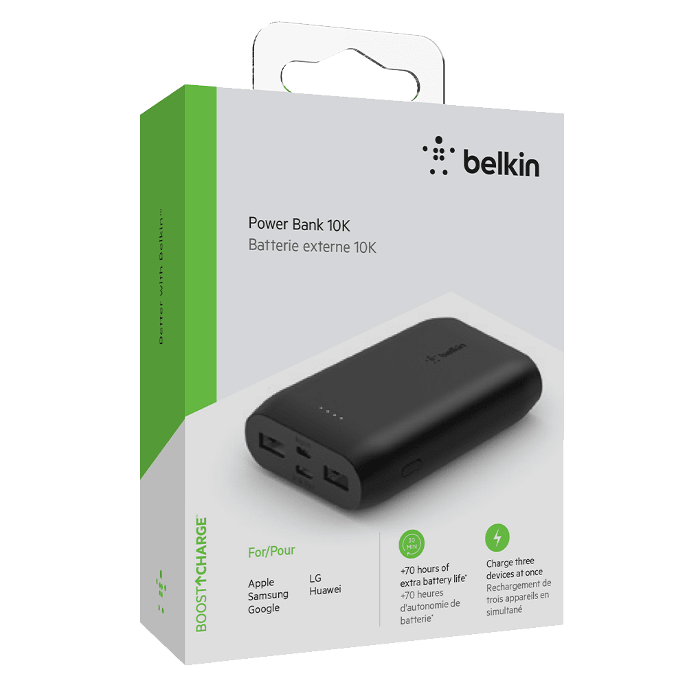 Wholesale cell phone accessory Belkin - Boost Up Charge Multi Port Power Bank 10,000 mAh -