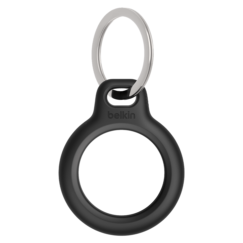 Wholesale cell phone accessory Belkin - Secure Holder with Key Ring for Apple AirTag - Black