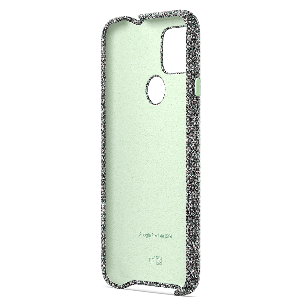Wholesale cell phone accessory Google - Fabric Case for Google Pixel 4a 5G - Static Grey
