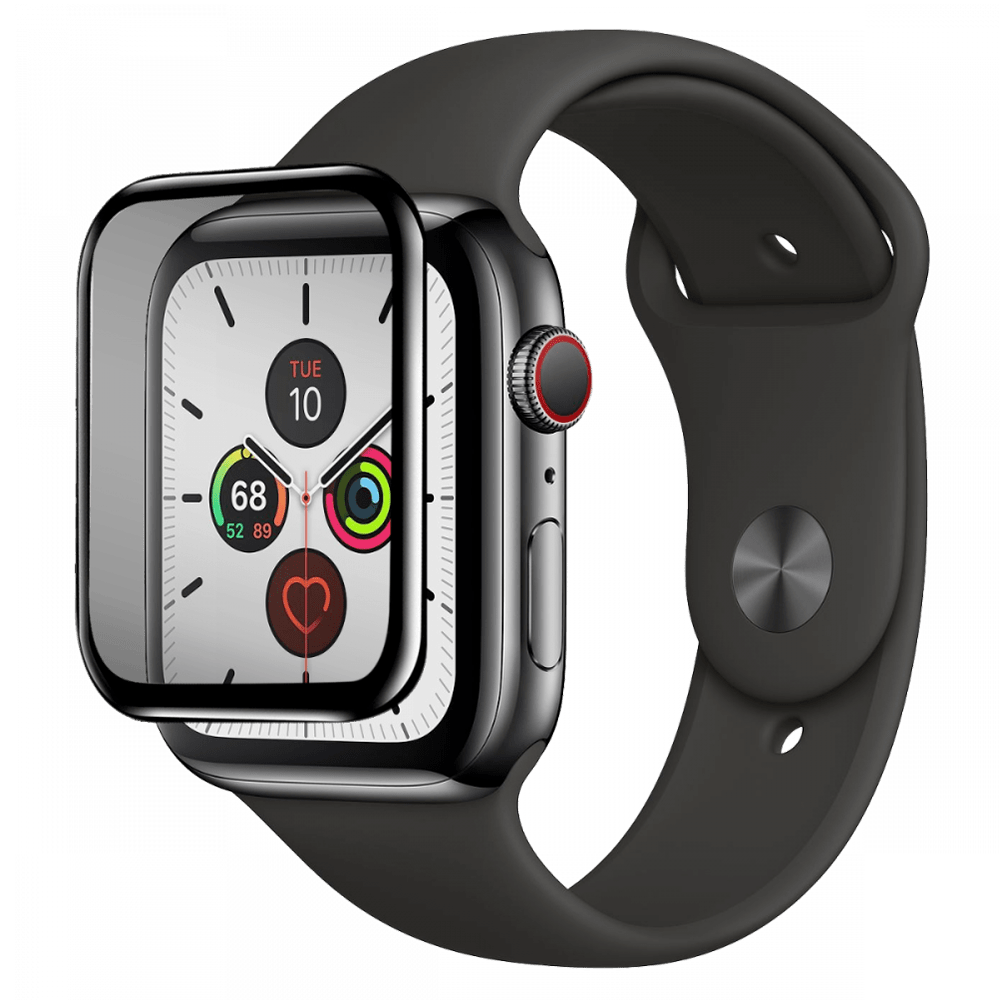 Wholesale cell phone accessory Gadget Guard - Black Ice Flex Screen Protector for Apple Watch