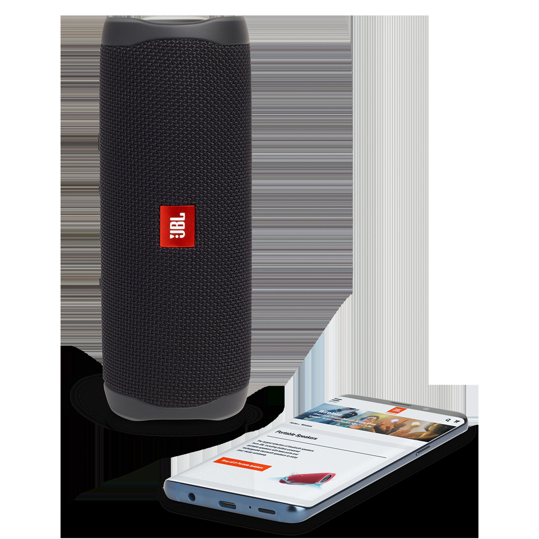 Wholesale cell phone accessory JBL - Flip 5 Waterproof Bluetooth Speaker - Black