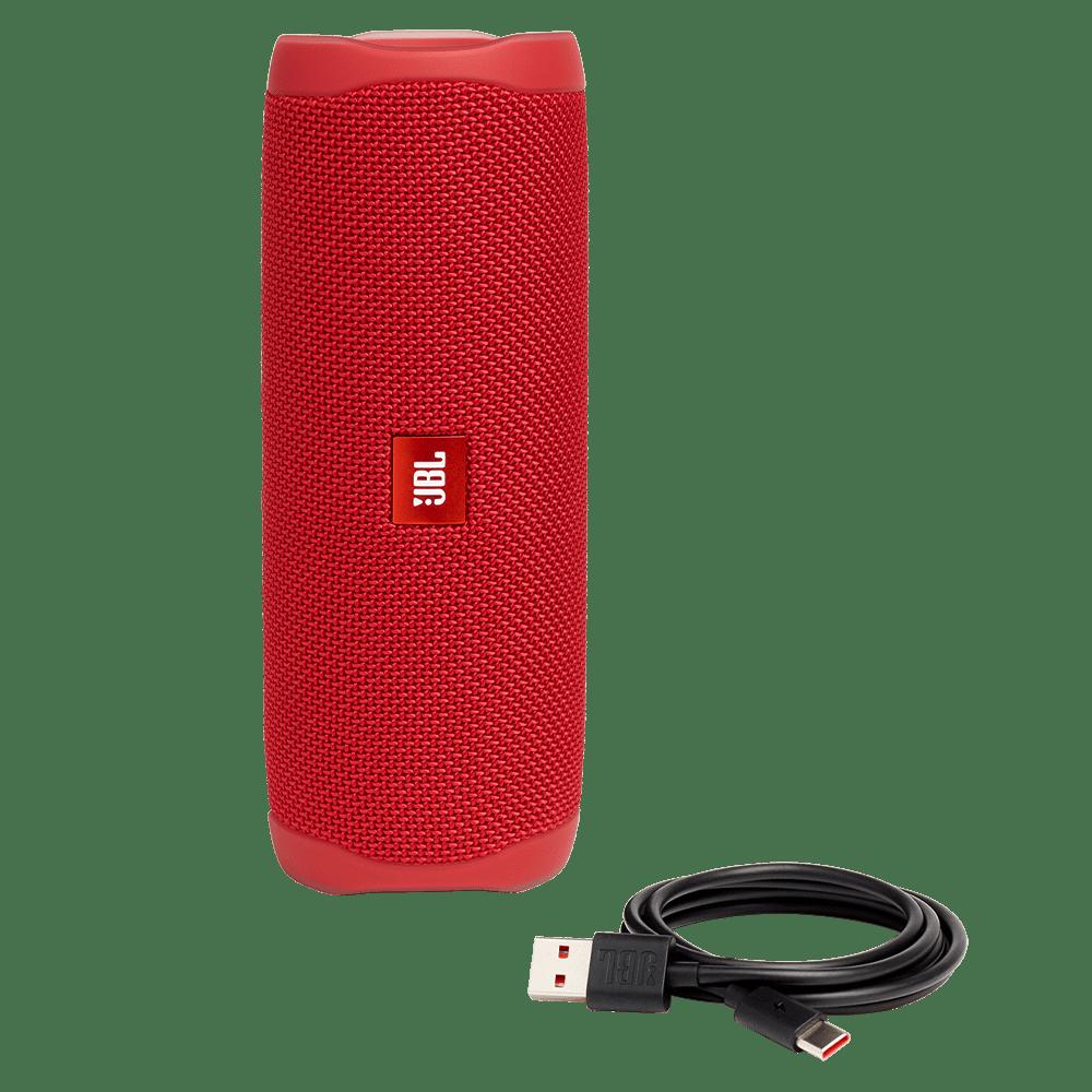 Wholesale cell phone accessory JBL - Flip 5 Waterproof Bluetooth Speaker - Red