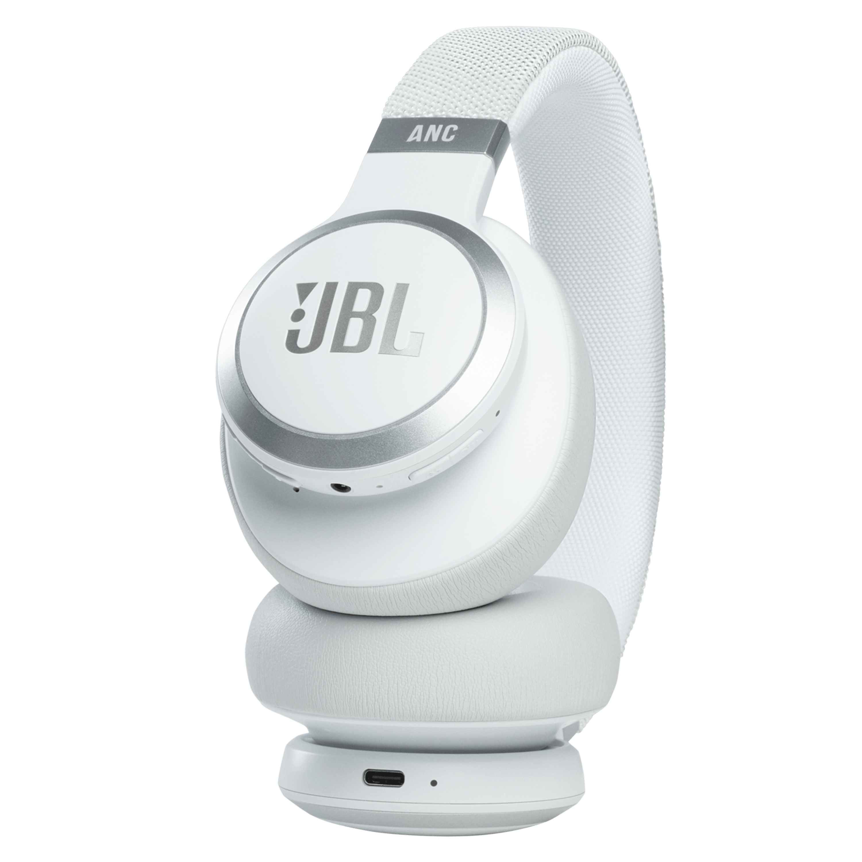 Wholesale cell phone accessory JBL - LIVE 660NC Over Ear Bluetooth Headphones - White
