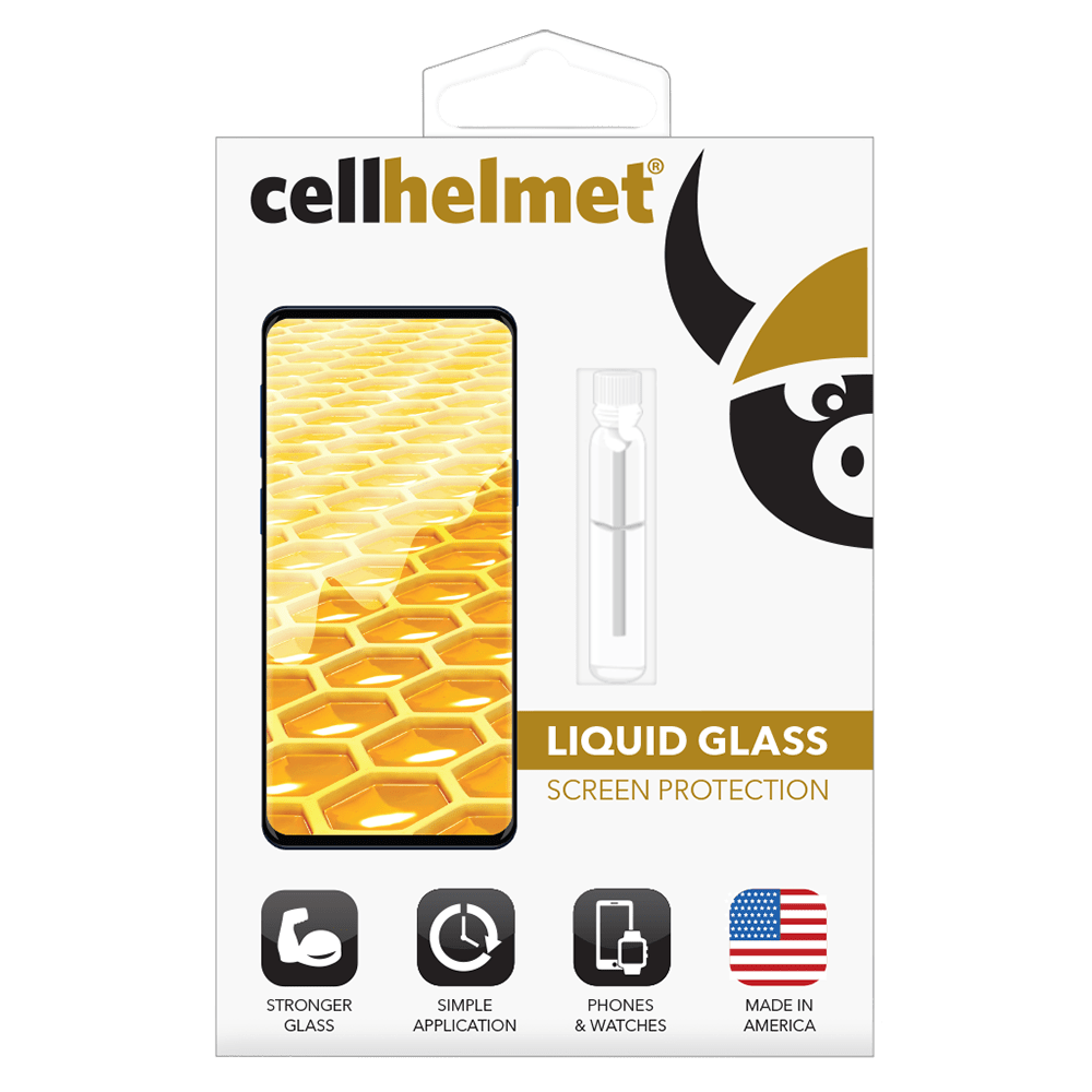 Wholesale cell phone accessory cellhelmet - Liquid Glass Screen Protection for Phones - Clear