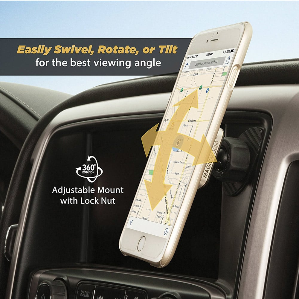 Wholesale cell phone accessory Scosche - MagicMount Pro Dash Mount for PopSockets - Black and
