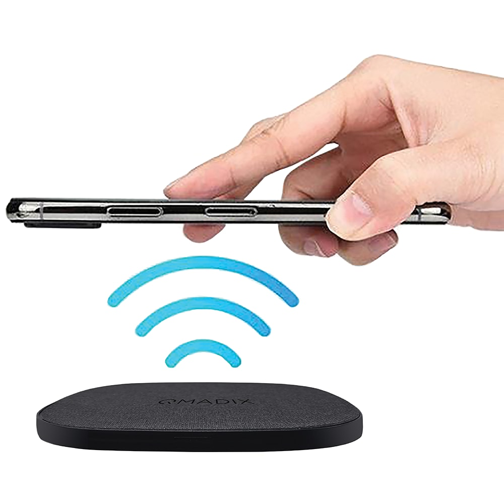 Wholesale cell phone accessory Qmadix - Quick Charge 3.0 Wireless Charging Pad 10W with Wall