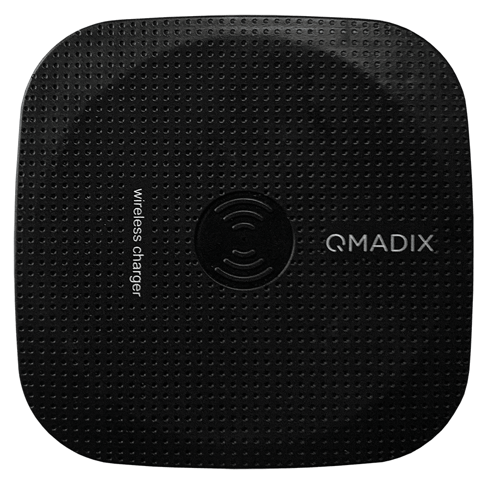 Wholesale cell phone accessory Qmadix - Wireless Charging Pad 5W - Black