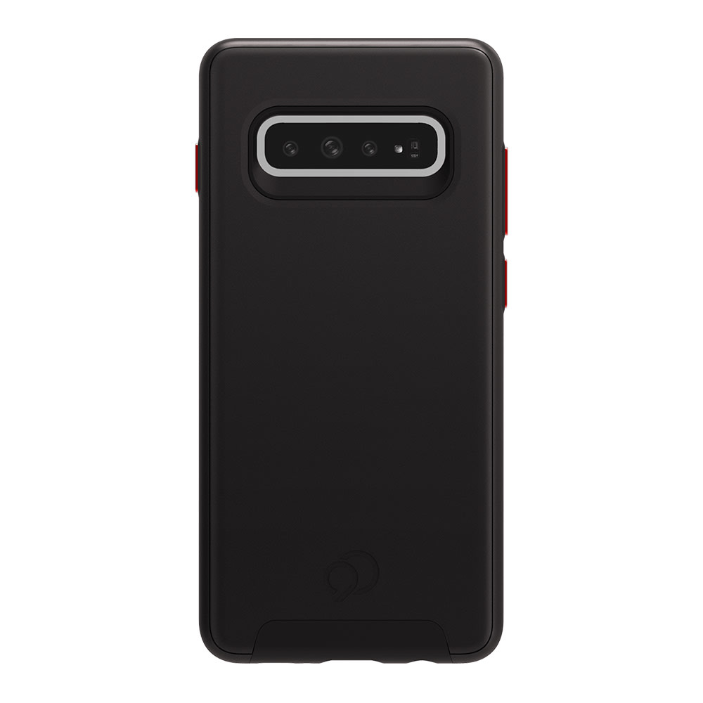 Wholesale cell phone accessory Nimbus9 - Cirrus 2 Case for Samsung Galaxy S10 Plus - Black