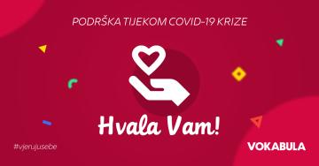 Vokabula: Naša podrška vama tokom COVID-19