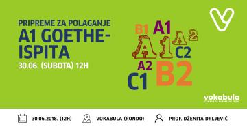 Pripremna nastava za polaganje ispita Goethe-Instituta za dobivanje Goethe-Zertifikata