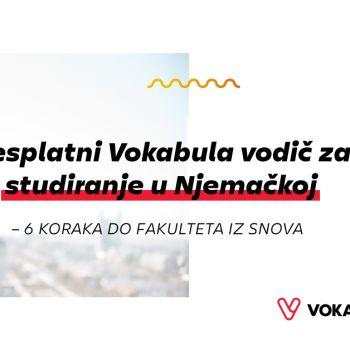 Besplatni Vokabula vodič za studiranje u Njemačkoj