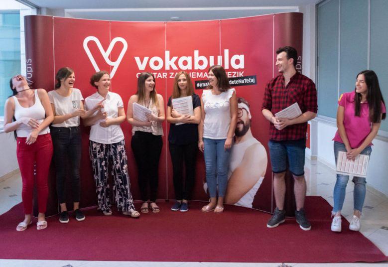 predavači u Vokabula-centru