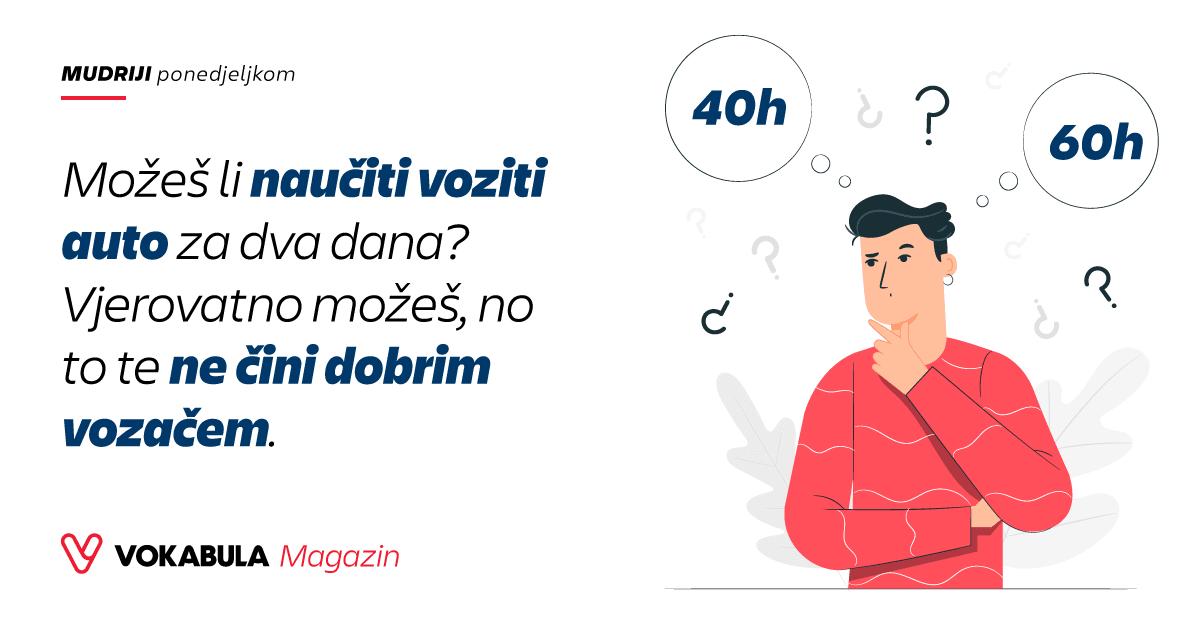 Zašto 60 časova nije dovoljno da naučite njemački jezik!?
