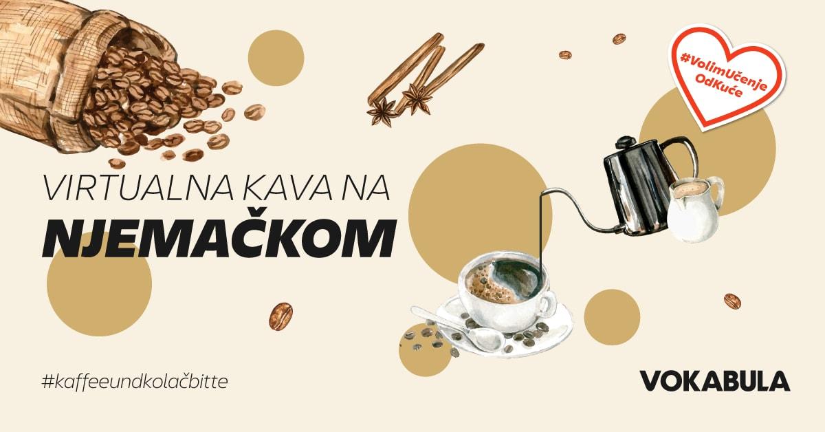 """vokabular njemačkog jezika, Najavljujemo prvu virtualnu konverzacijsku """"kavu"""". Trebate samo pristup internetu"""