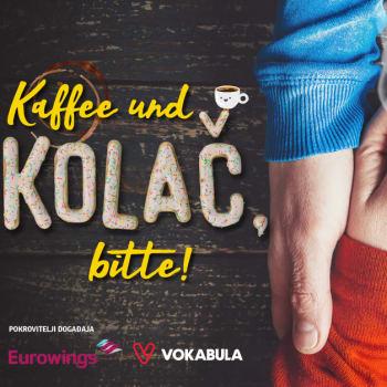 udvarati na njemačkom jeziku, Udvaranje na njemačkom jeziku je lakše nego što mislite. U Mostar nam stiže Valentinovsko izdanje 'Kaffee und kolač, bitte!'. Ideš?