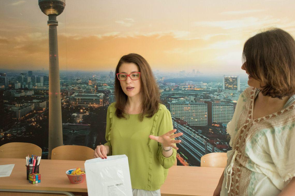 Erna Škampo je položila ispit Goethe-Instituta u Vokabula centru Mostar