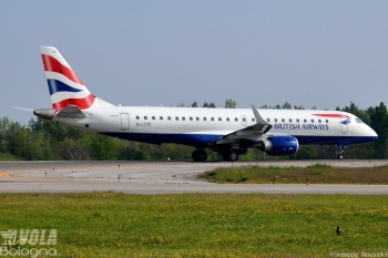 Embraer ERJ-190-100SR British Airways (CityFlyer) by Giuseppe Rimondini