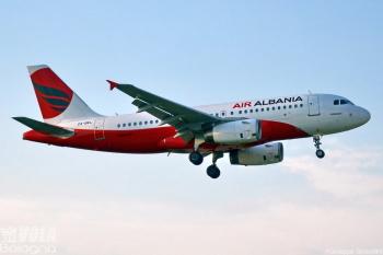 Airbus A319-100 Air Albania by Giuseppe Rimondini