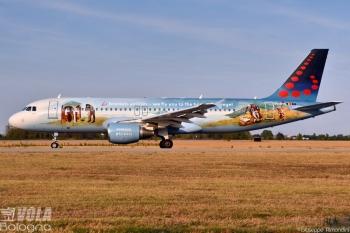 Airbus A320-200 Brussels Airlines by Giuseppe Rimondini