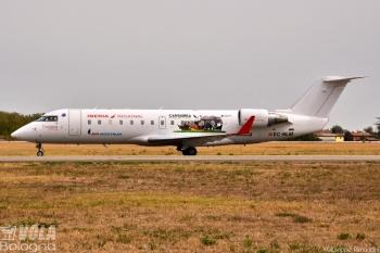 Bombardier CRJ-200ER Iberia Regional (Air Nostrum) by Giuseppe Rimondini