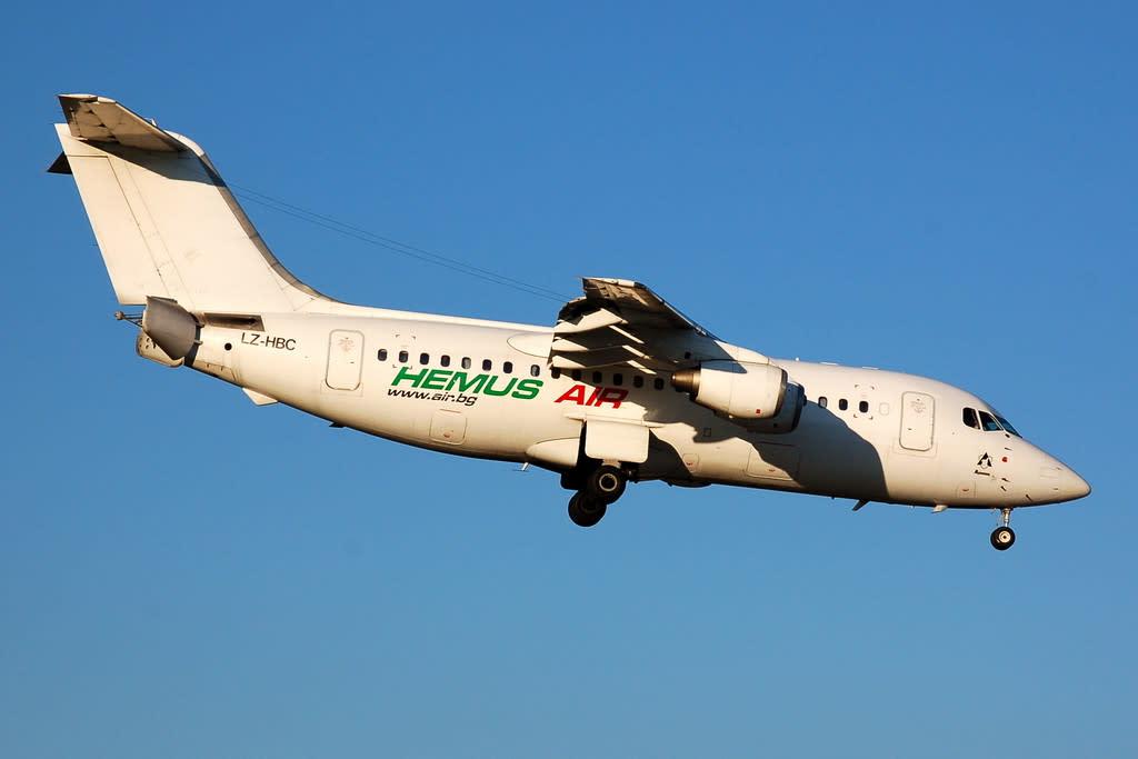Hemus Air British Aerospace BAe 146-200