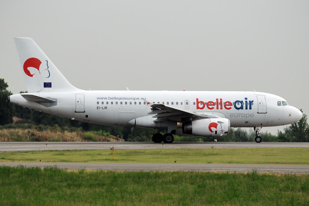 Belle Air Europe Airbus A319-132