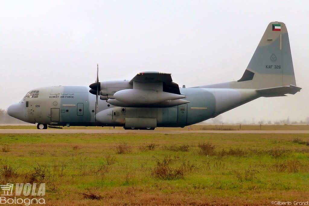 Kuwait Air Force Lockheed    KC-130J Hercules