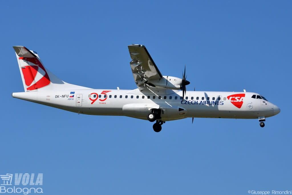 Csa - Czech Airlines ATR 72-212